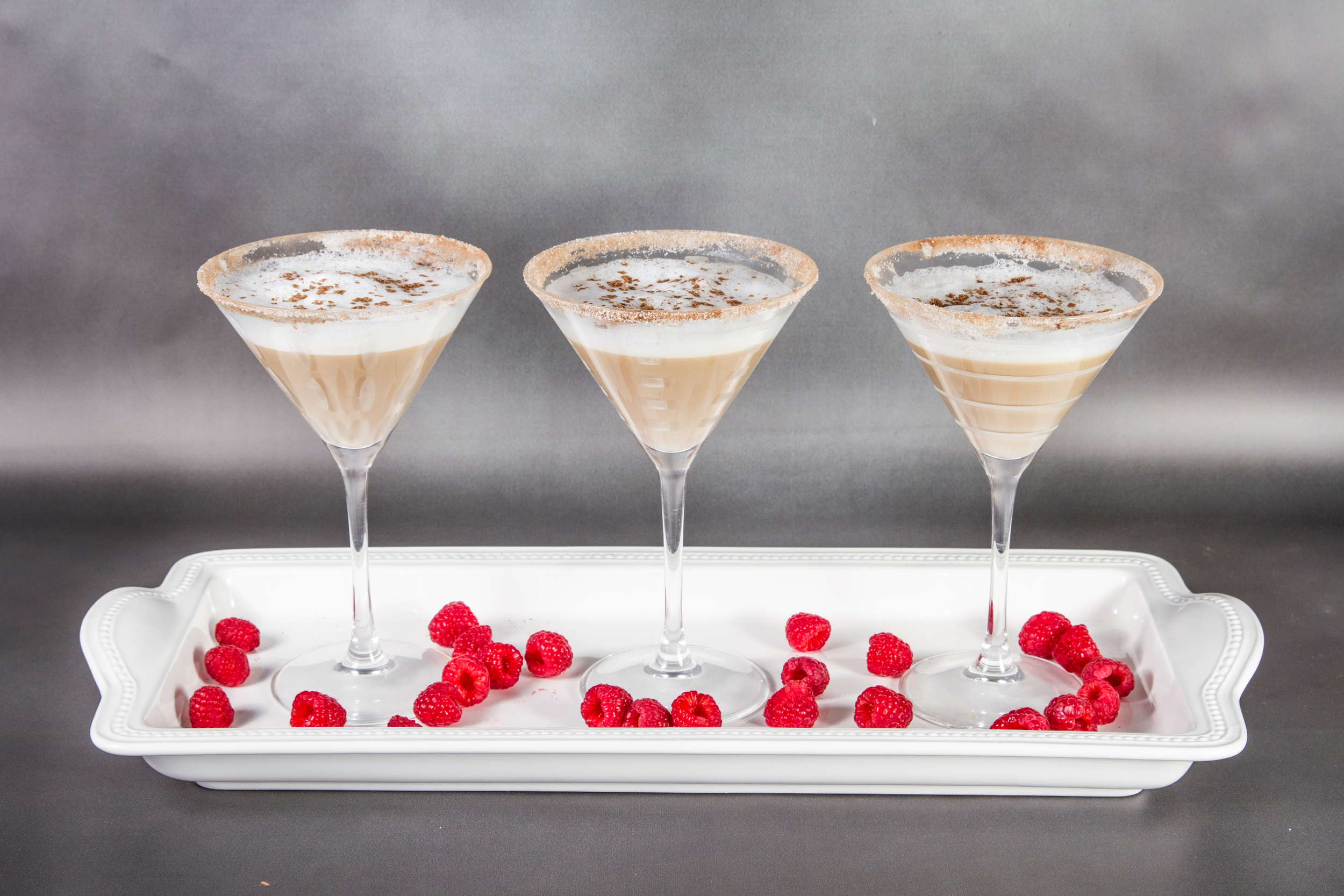 Latte-tini made with Cafe' Luxe stainless steel best milk frother