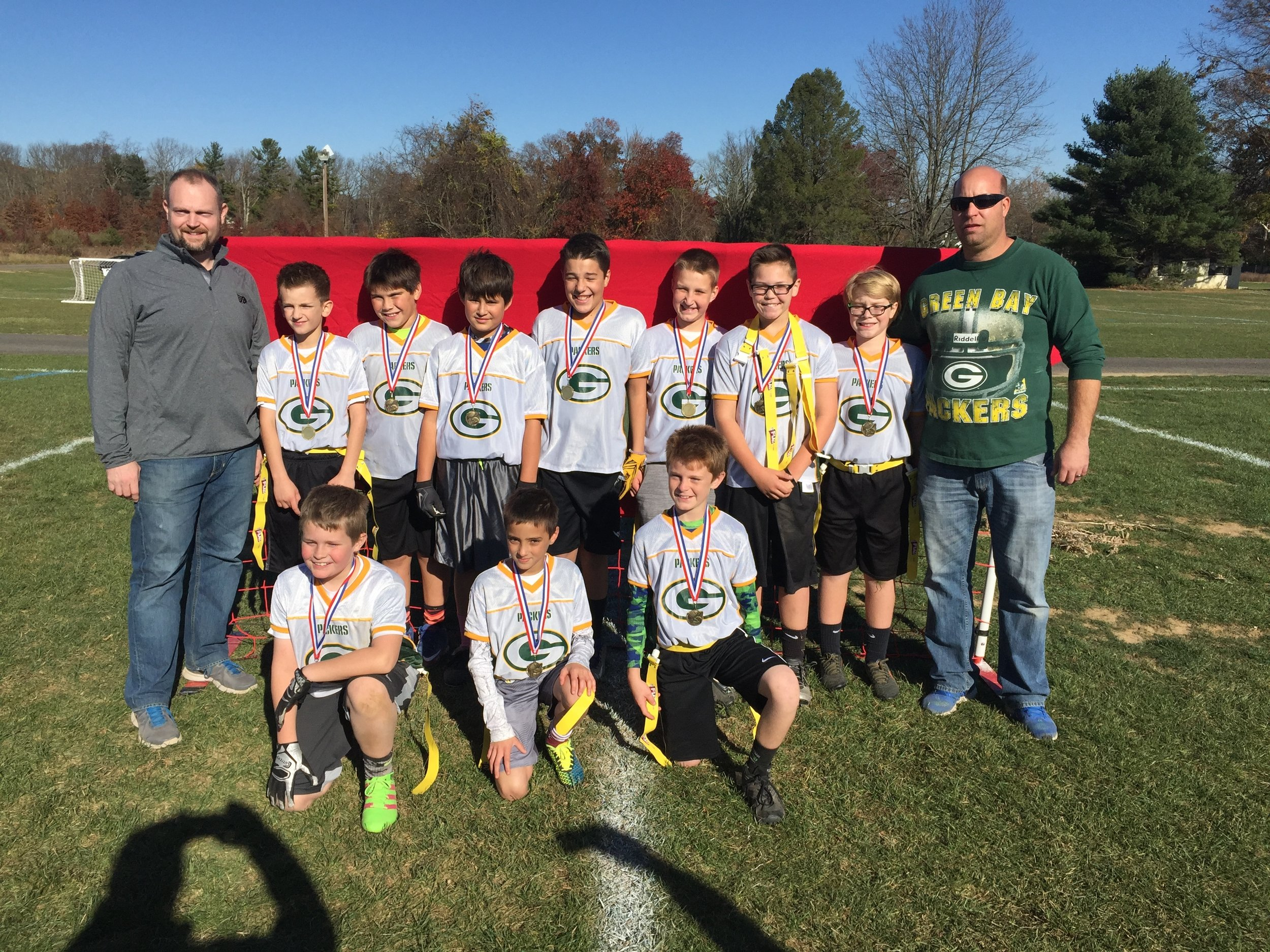 5/6 Packers - D1 Champions