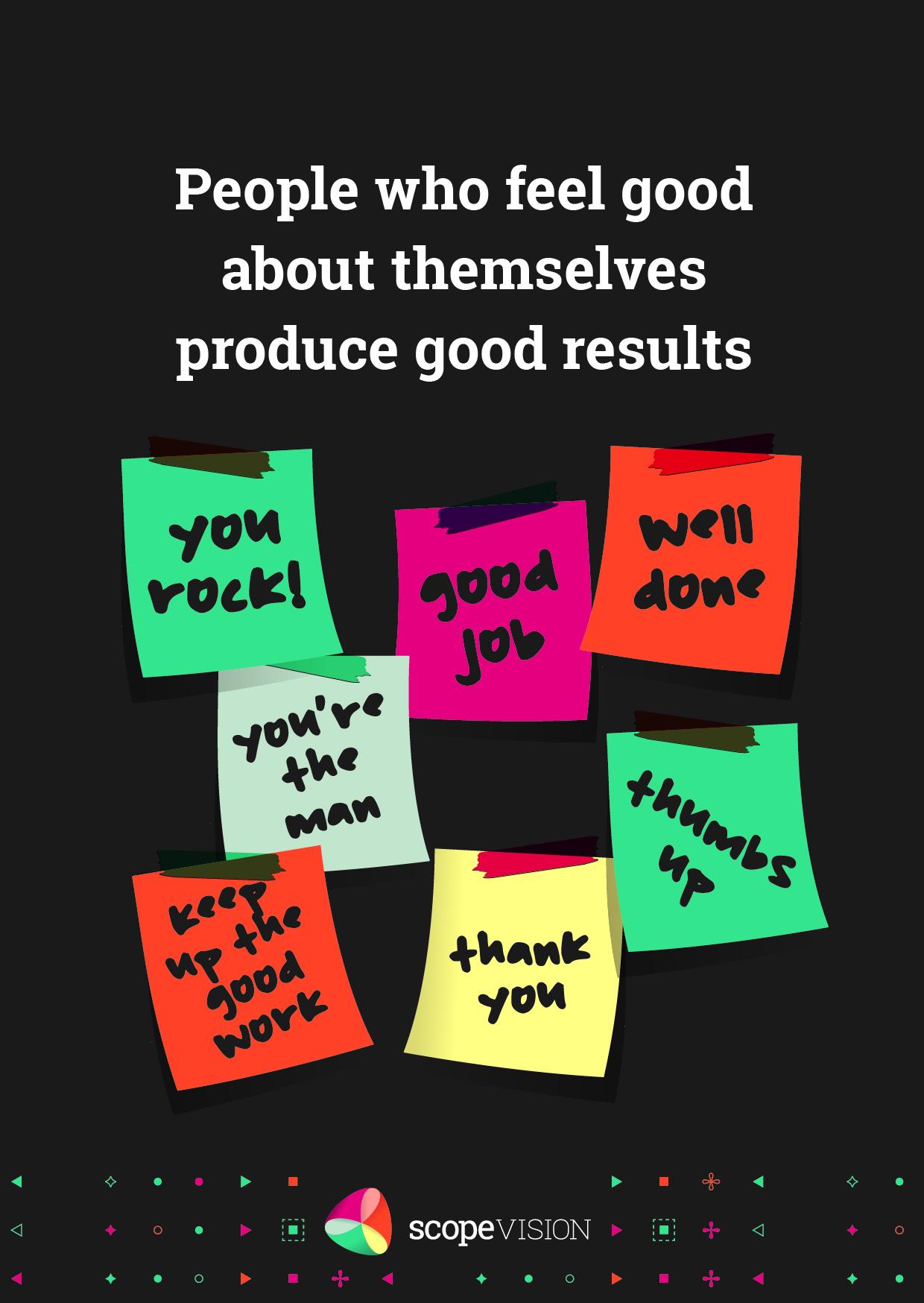 People feel good