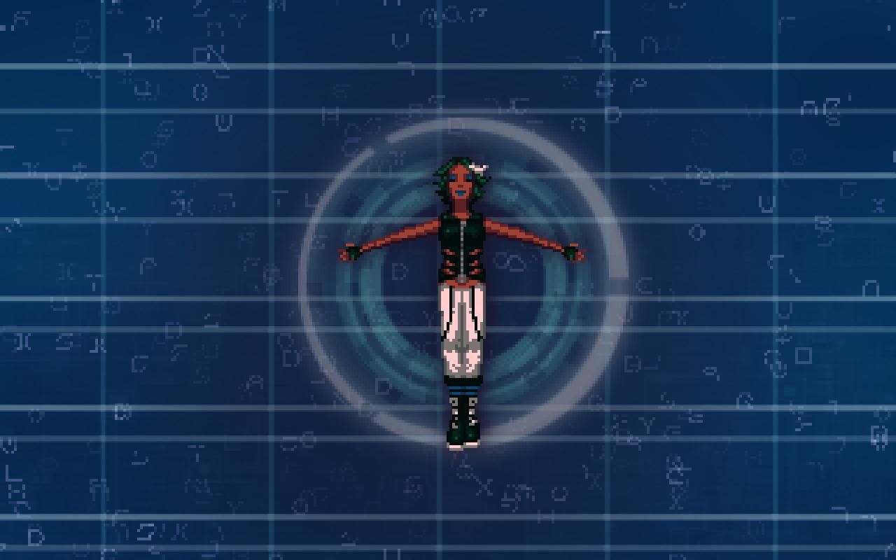Mandala, Latha Sesame's avatar, in the Trance.