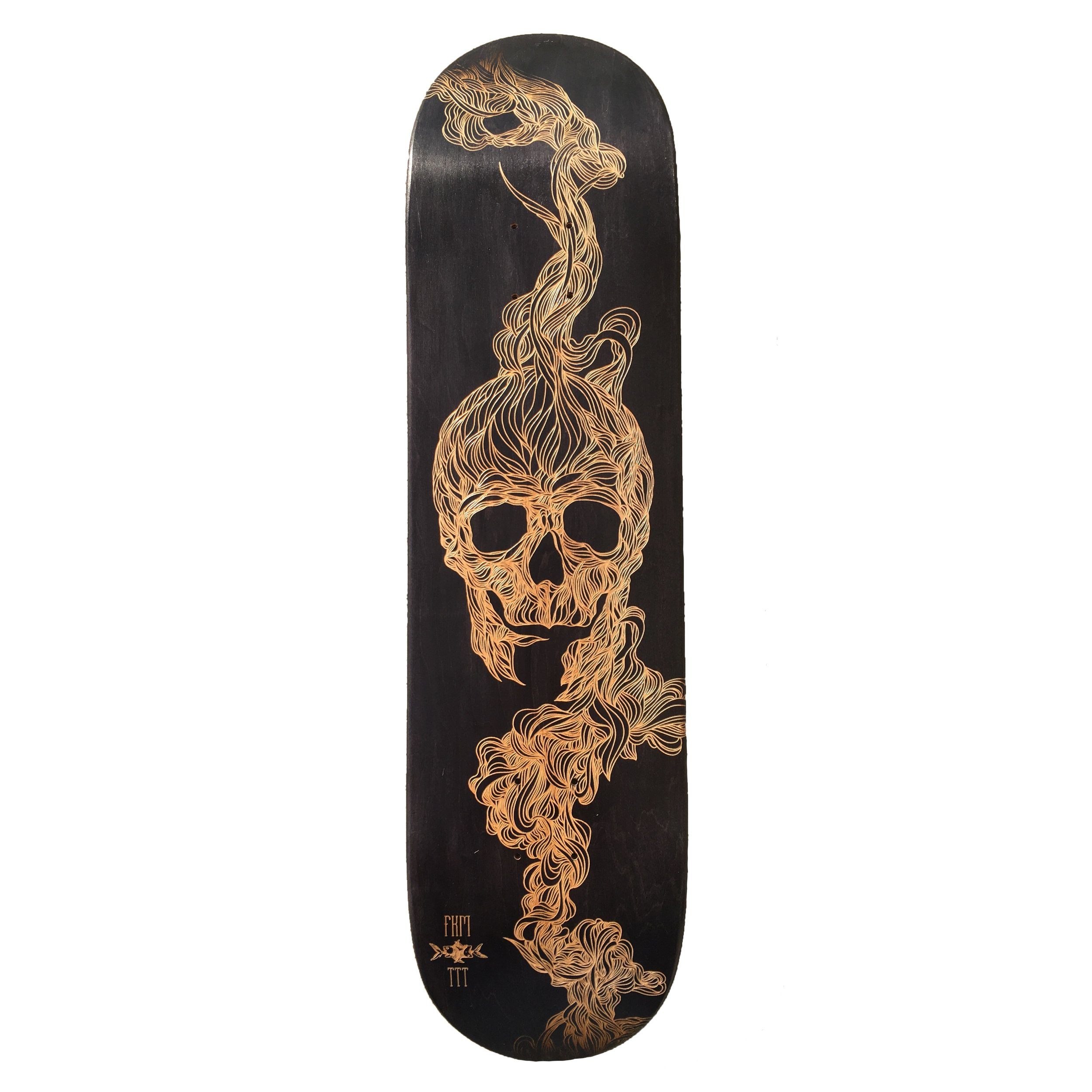 FKM tattoo skateboard collaboration 1