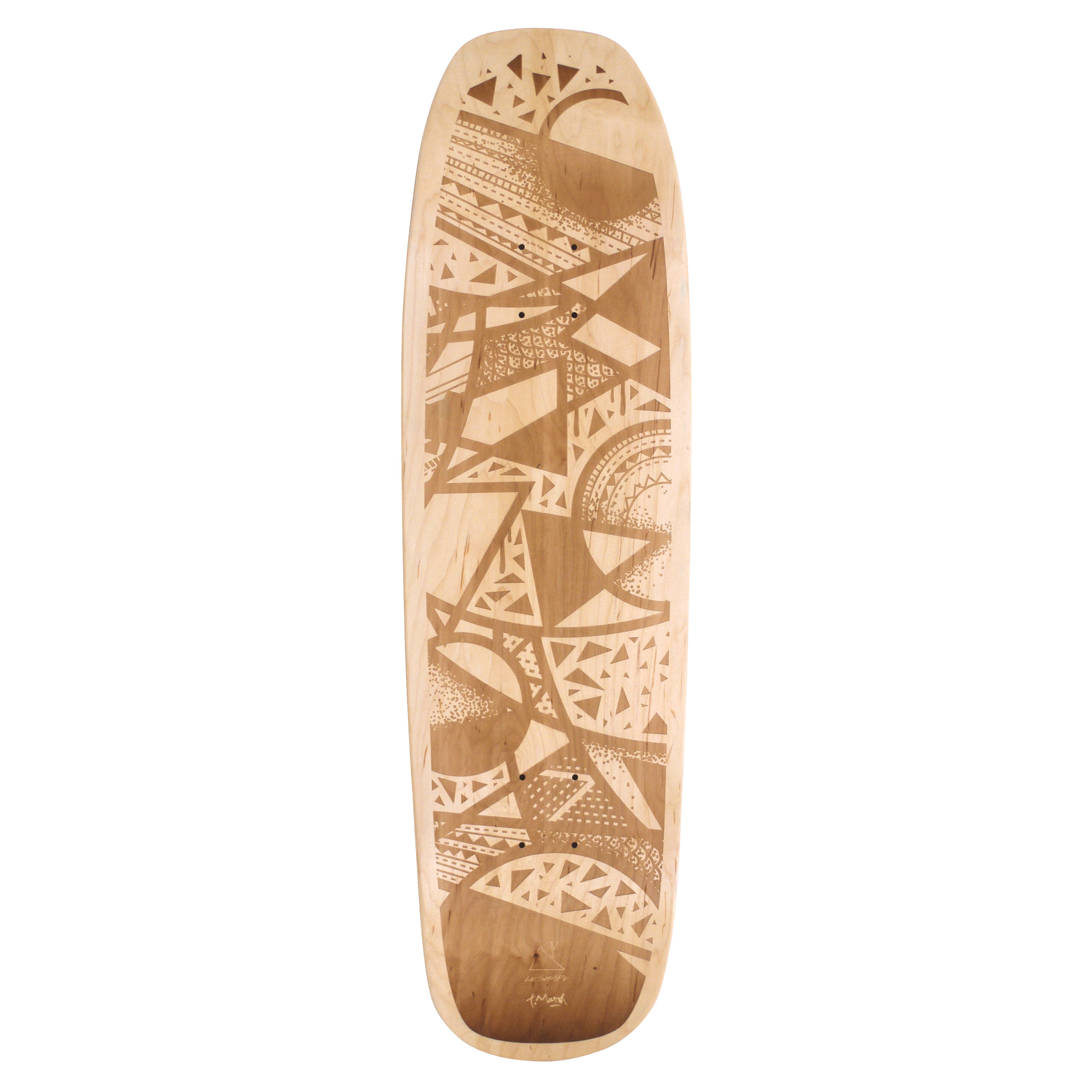 skateboard tim marsh with le shape