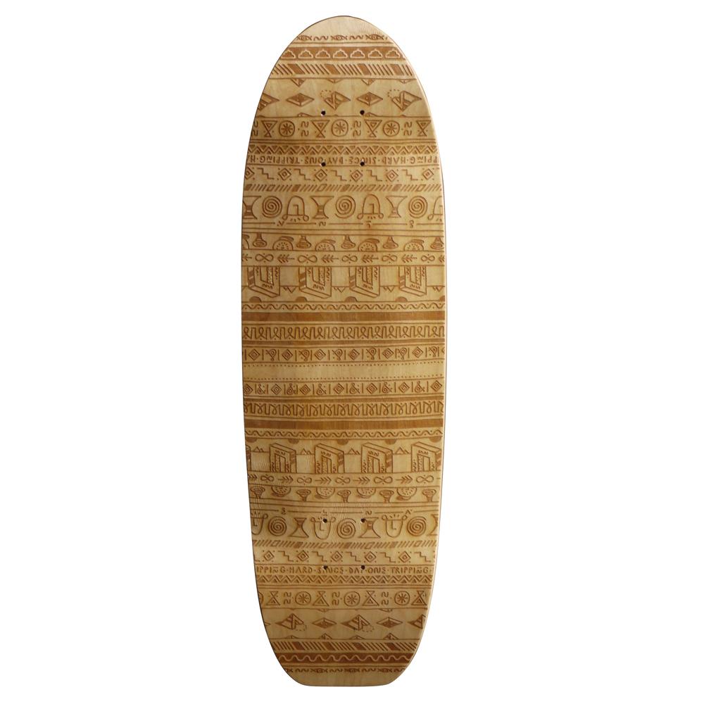 laser engraved skateboard from Elna