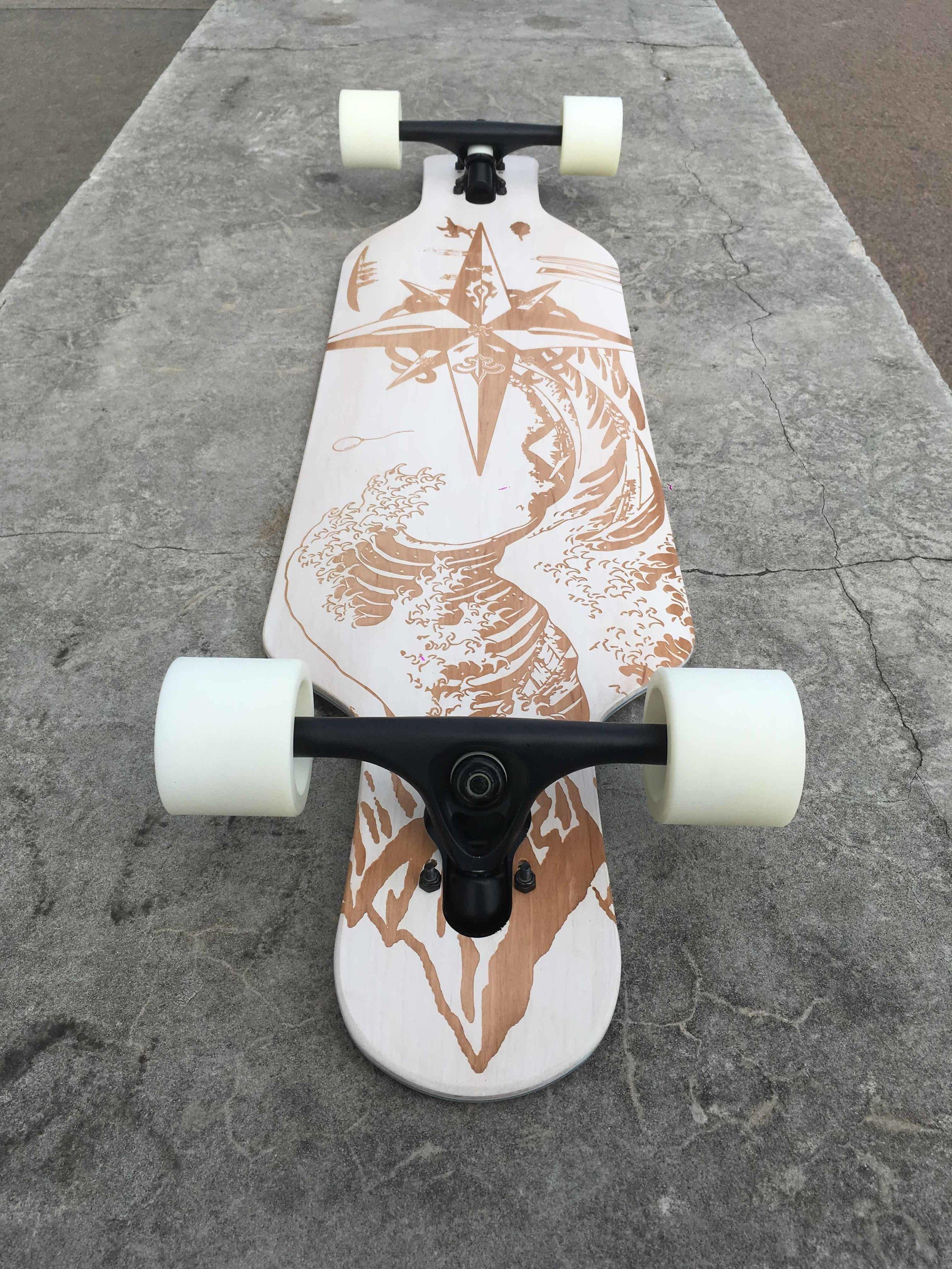 Vincent's custom gift — Le Shape