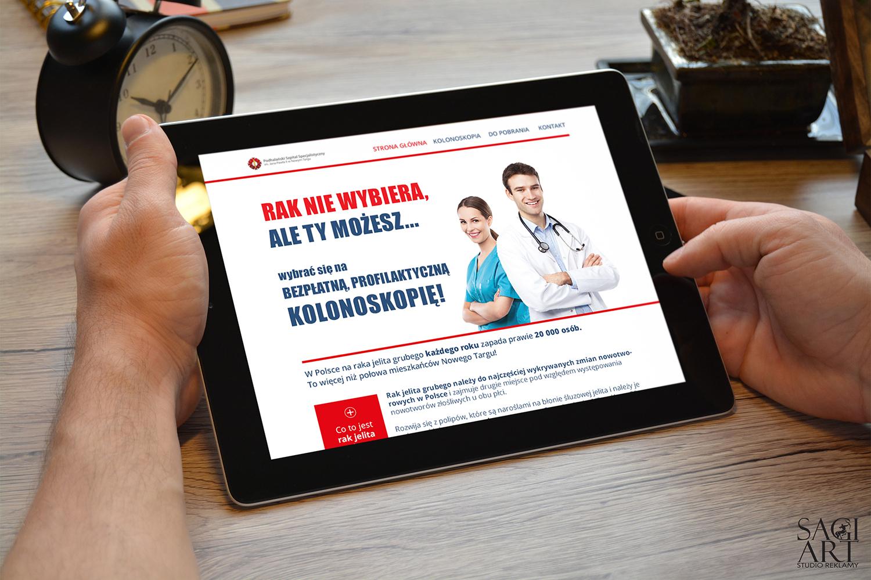 Przygotowanie graficzne i wdrożenie systemu dla strony  www.rakniewybiera.pl