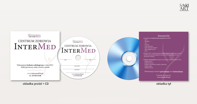 Projekt oraz druk opakowania wraz z płytą CD