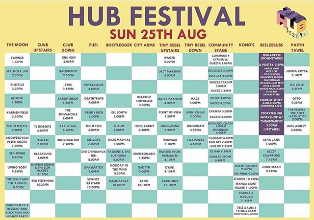 Come. Tis fun. @hubfestivalcardiff @themooncardiff