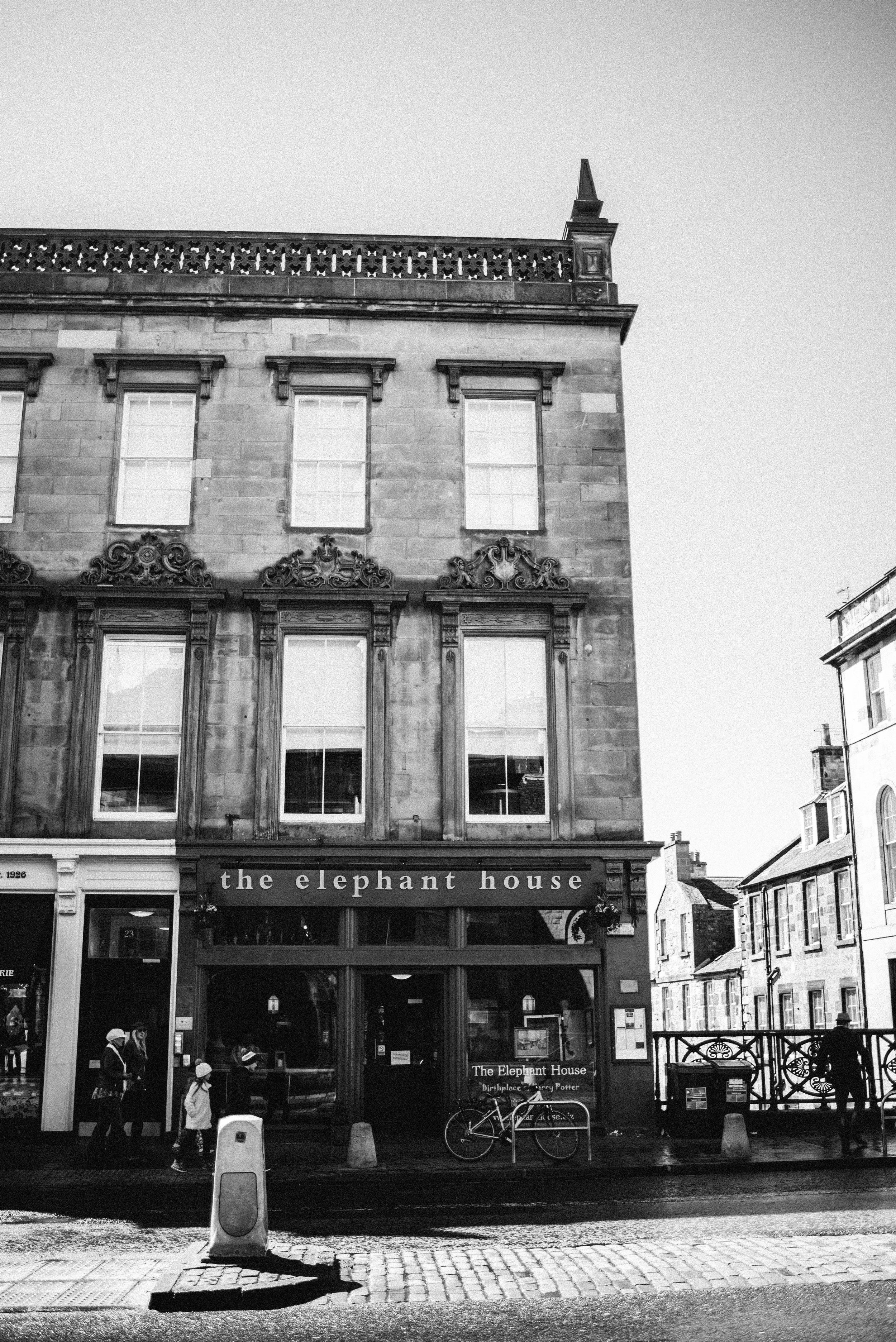 Elephant House. You can't visit Edinburgh and not stop by.