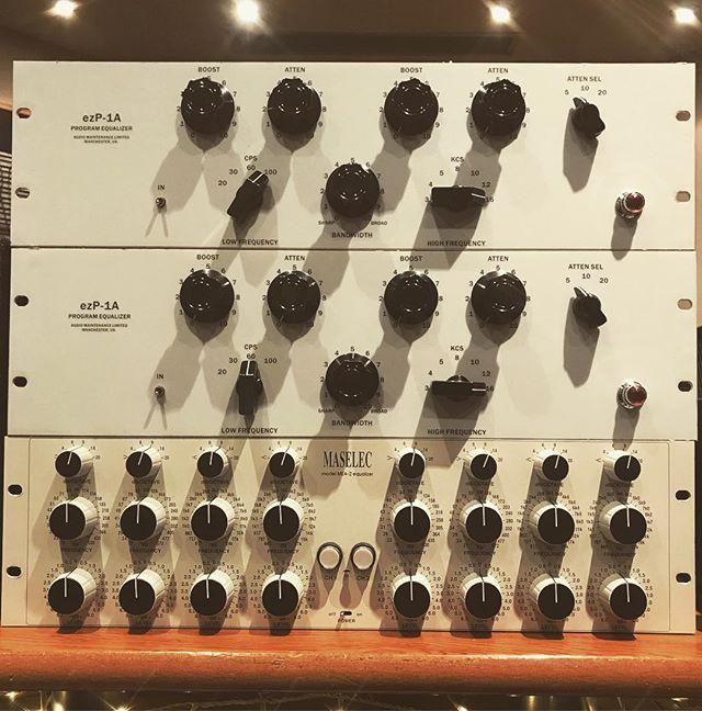 Equalisation #Maselec #pultec #amlpultec #recording #mixing #mastering