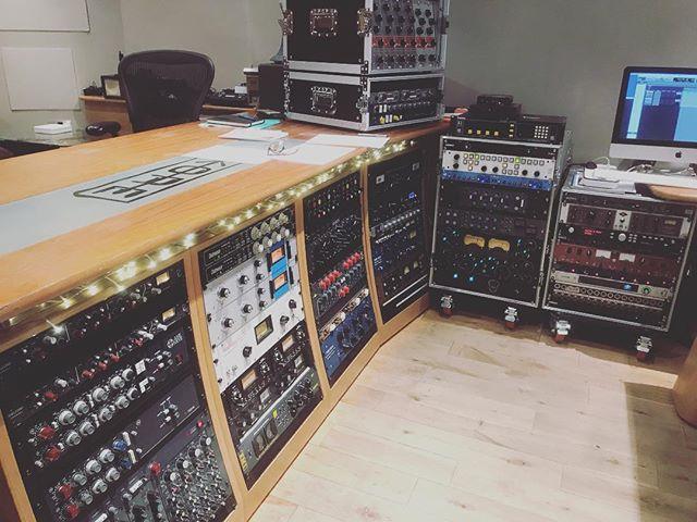 Racks @korerecording #outboardgear #Recording #londonmusic