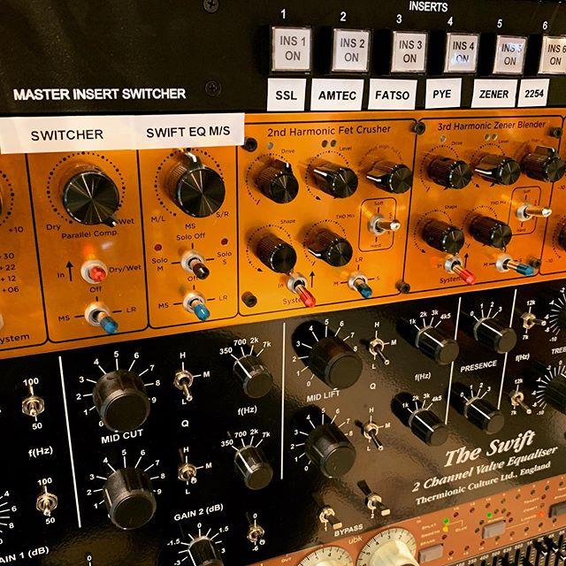 Mix buss #vertigosound #ssl #amtec #pompye #chandlerzener #neve2254