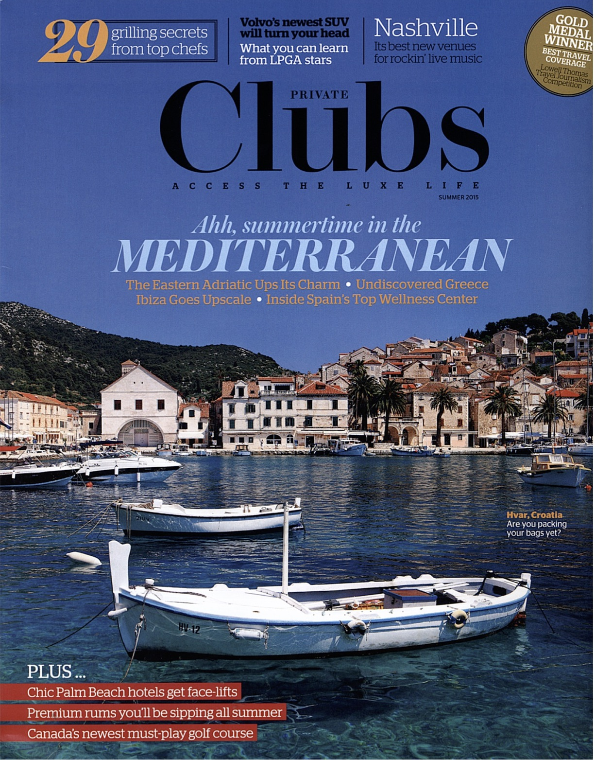 Private Clubs Magazine | Summer 2015