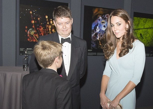 Meeting the Duchess of Cambridge