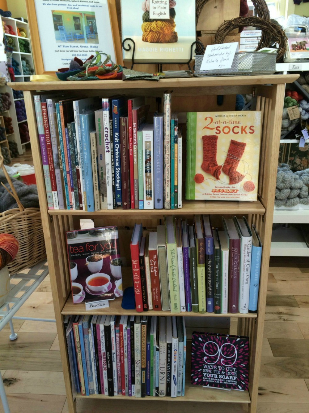 Inspiring and instructive books from Orono's Front Porch Books