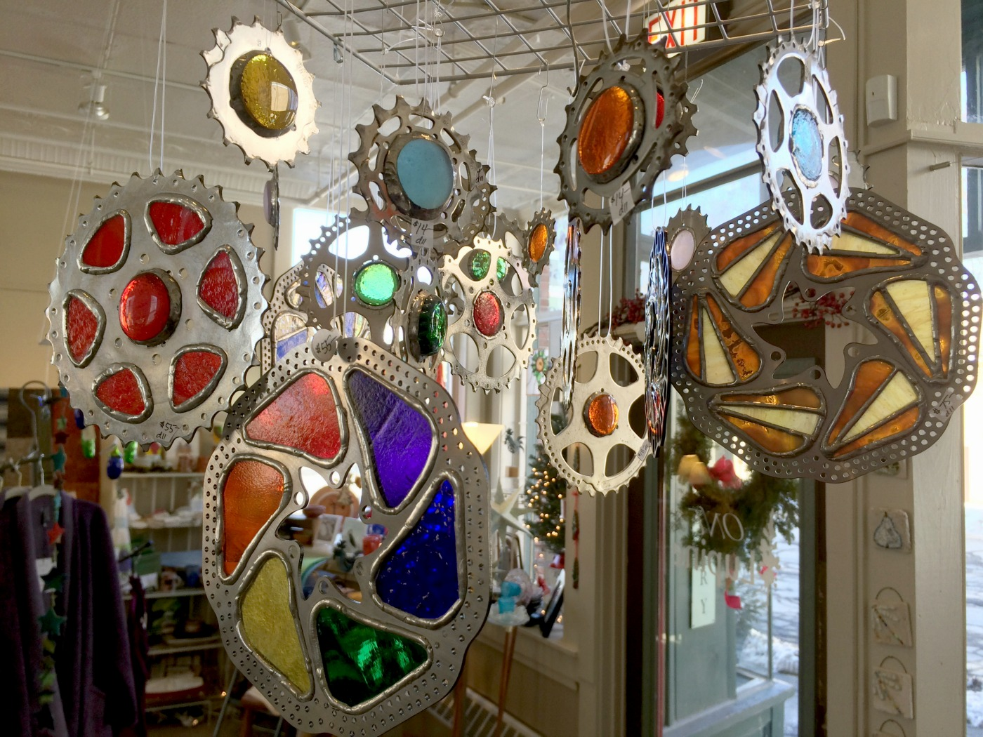 stained glass work by lynn bolduc