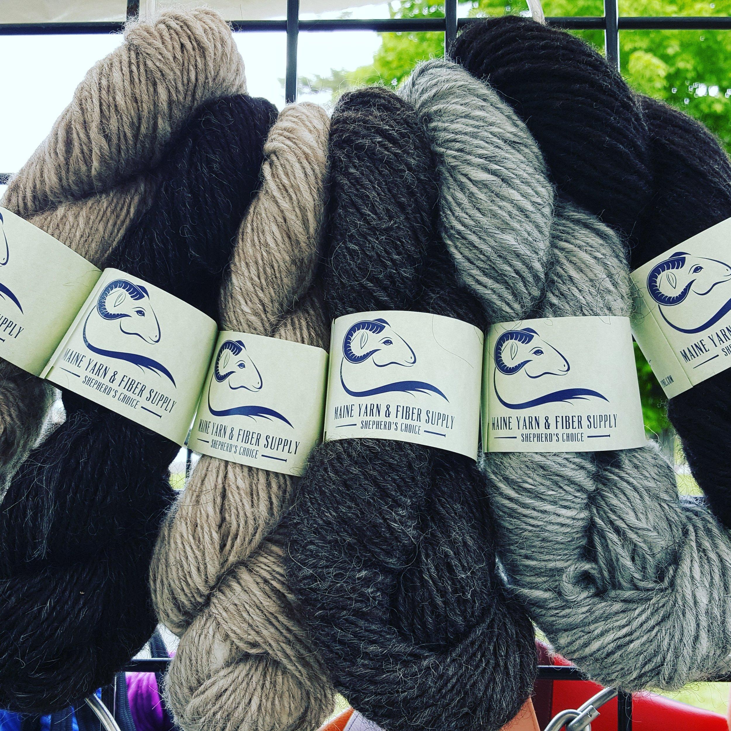 Lopi Spun Icelandic yarn at Fiber Frolic