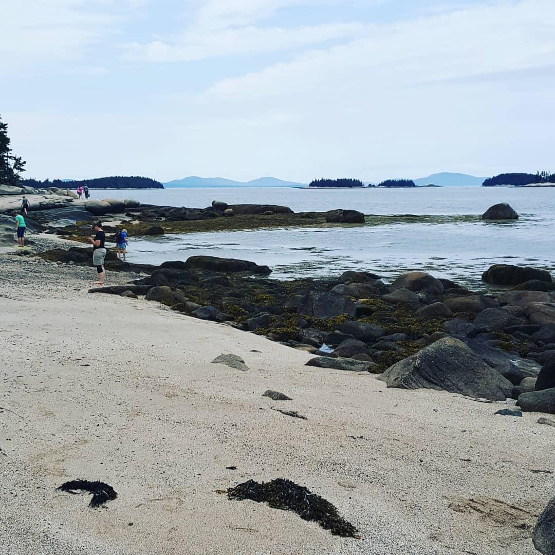 Our own beach - Splash