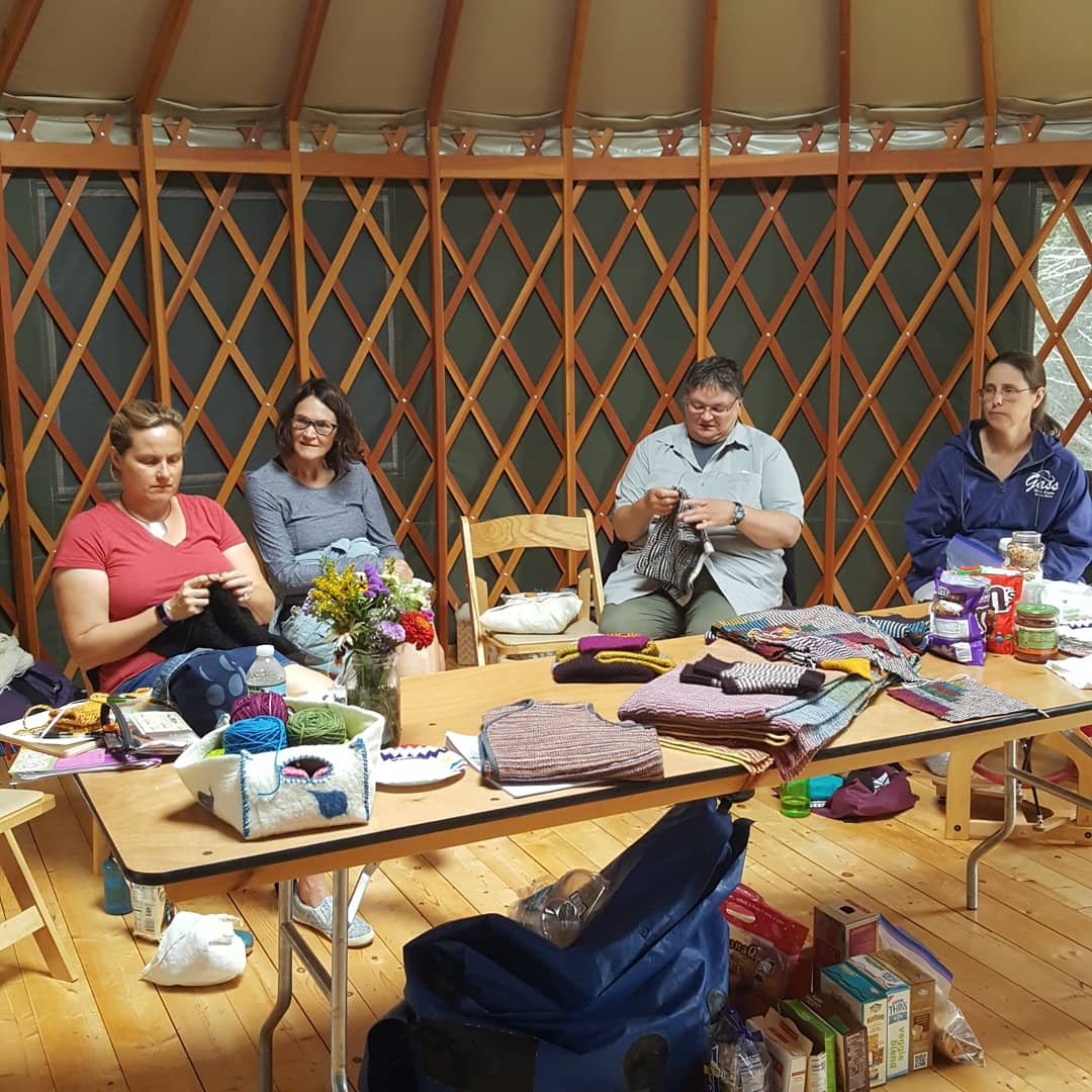 Yurt time - settle in and relax