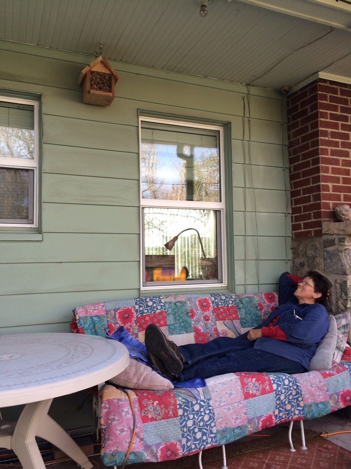 Kathlyn Collins,  Gardening Coach , laid back.