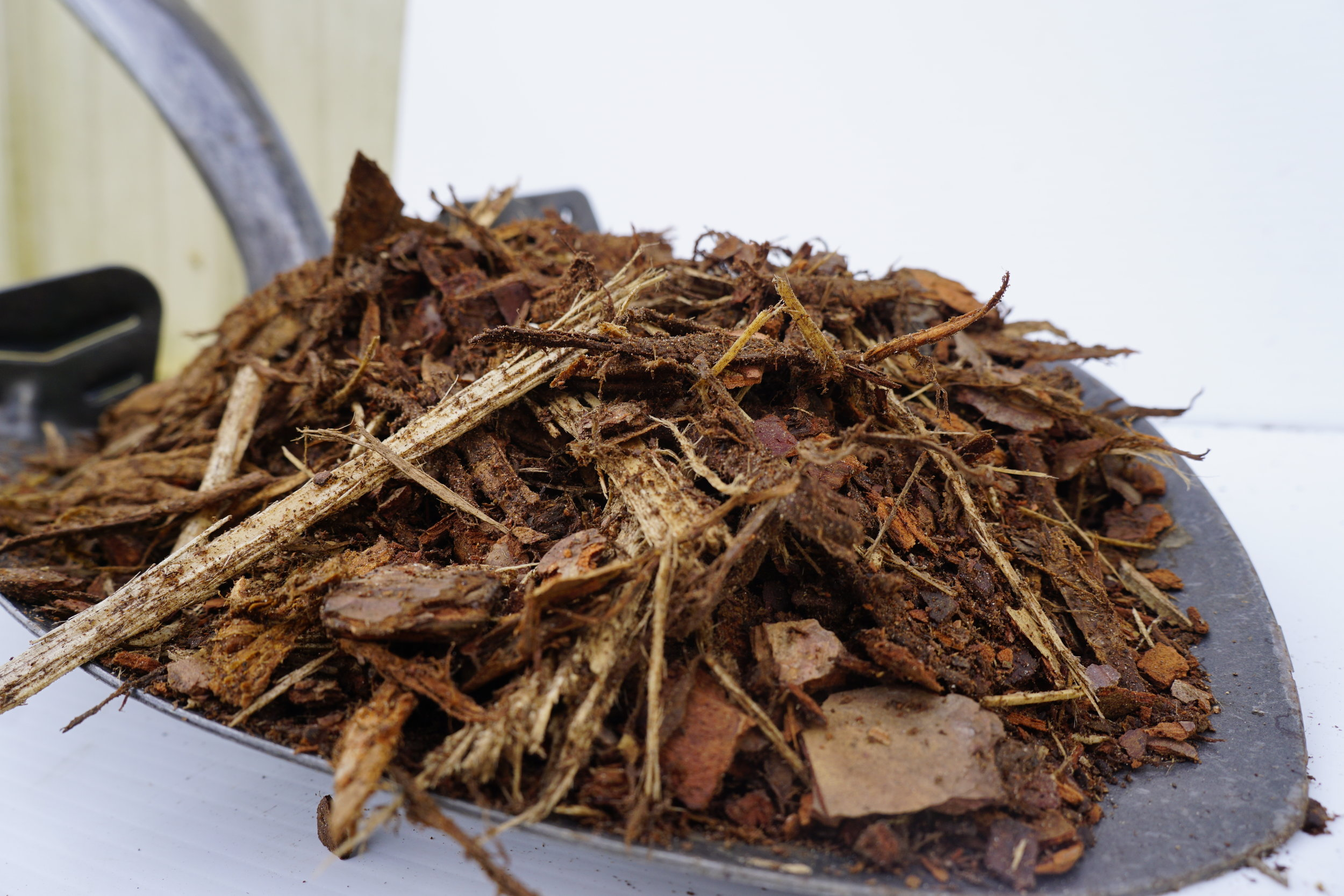 Pine Bark Mulch - $38 per cubic yard
