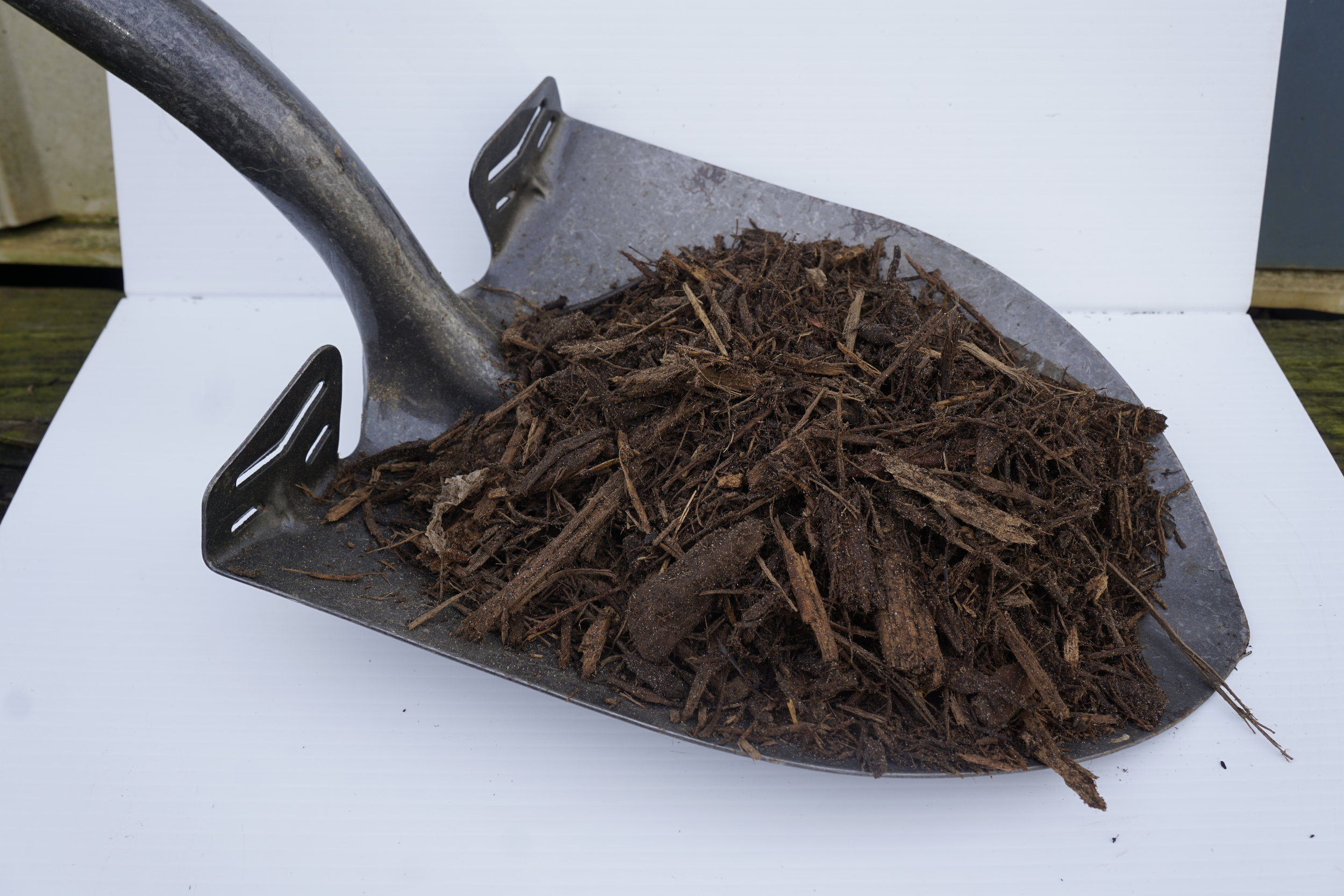 Shredded Hardwood Mulch - $25 per cubic yardPure, clean, classic Hardwood Mulch.