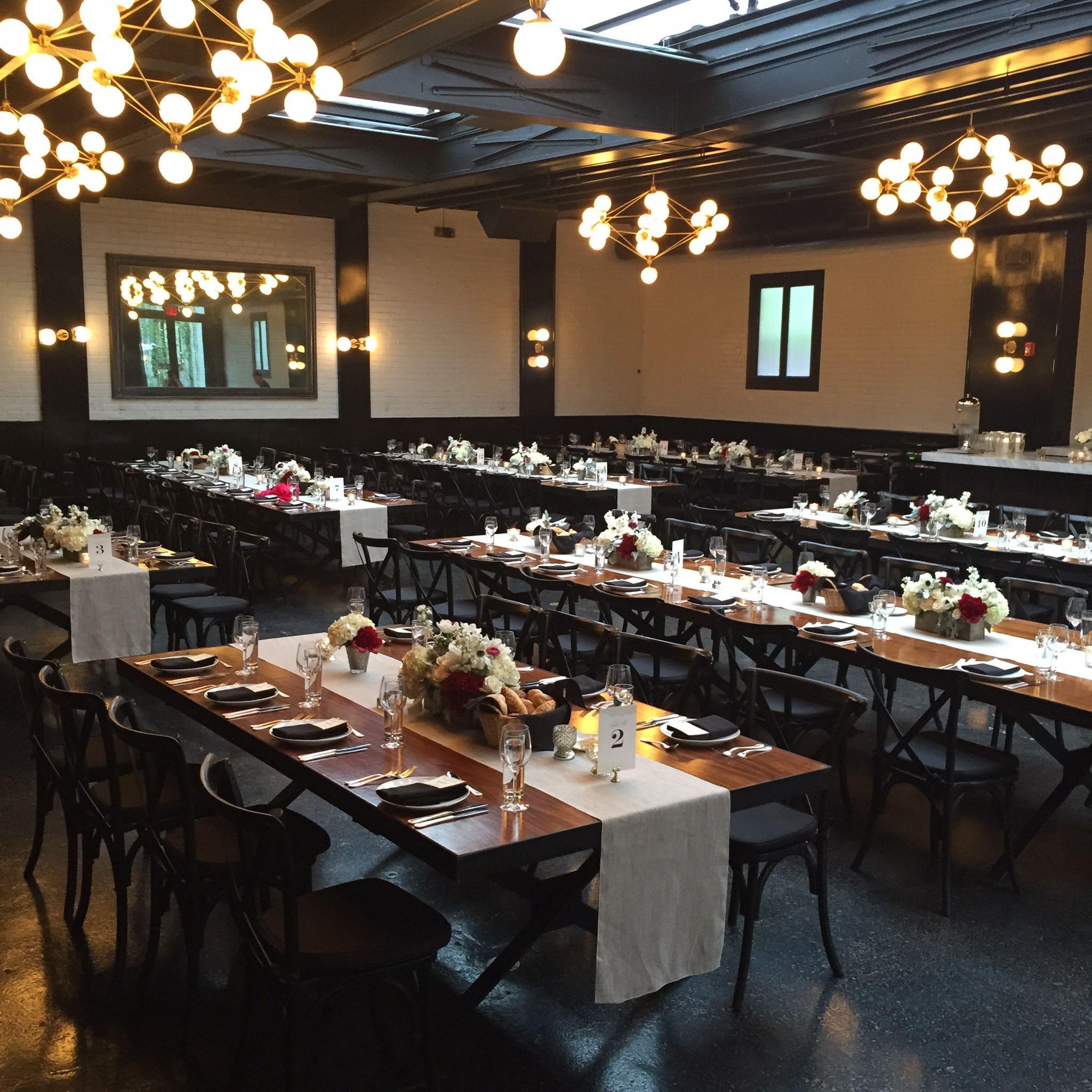 Wedding Dining Room at 501 Union