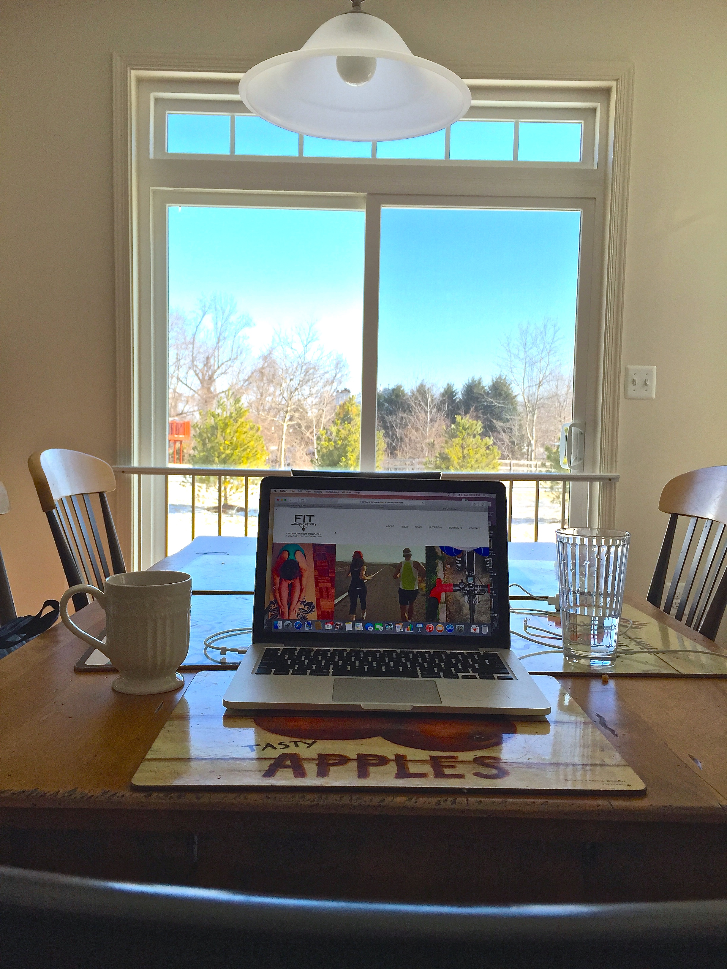 A new view: blogging from Baltimore, MD today.