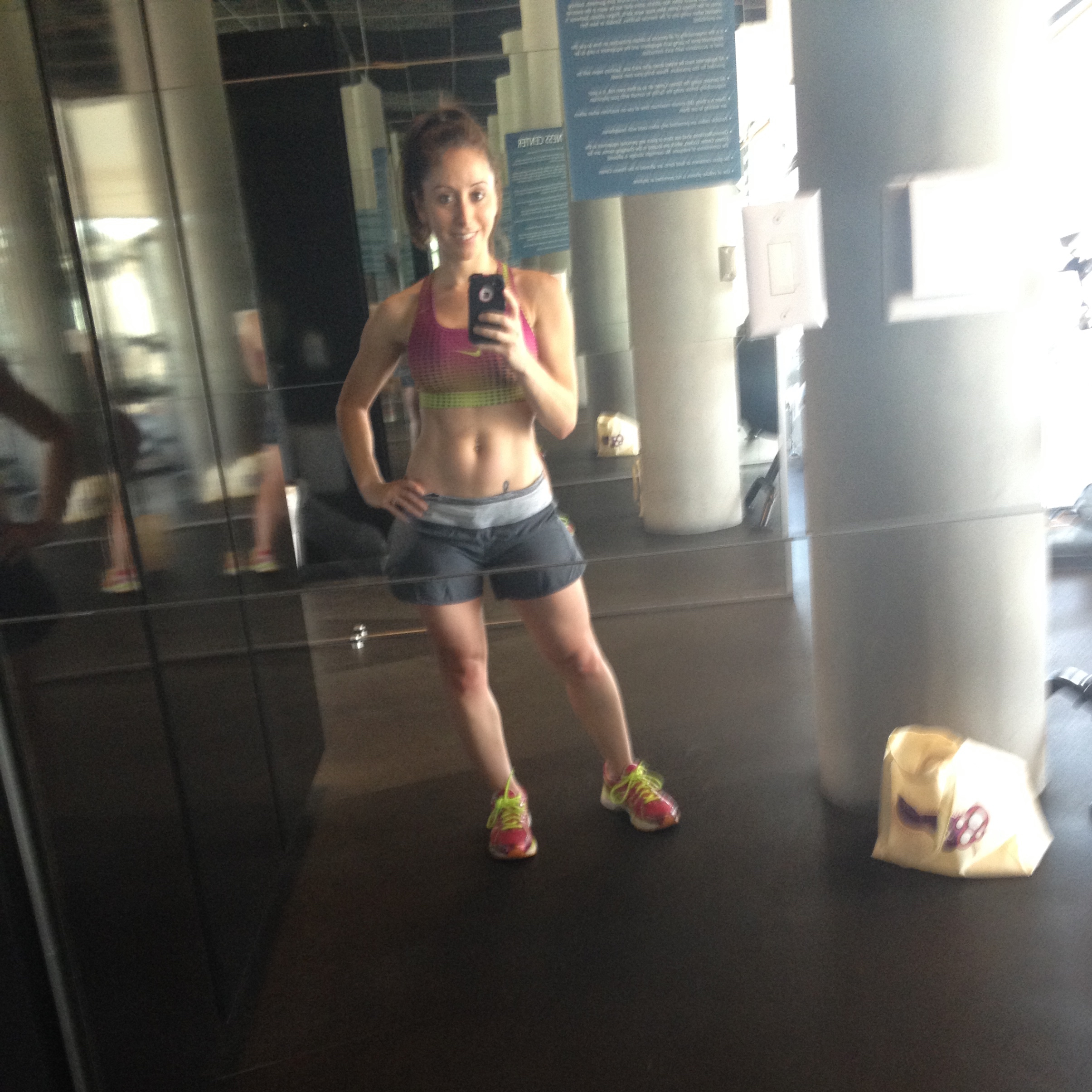 I made use of my hotel gym during my own bachelorette weekend in Vegas.