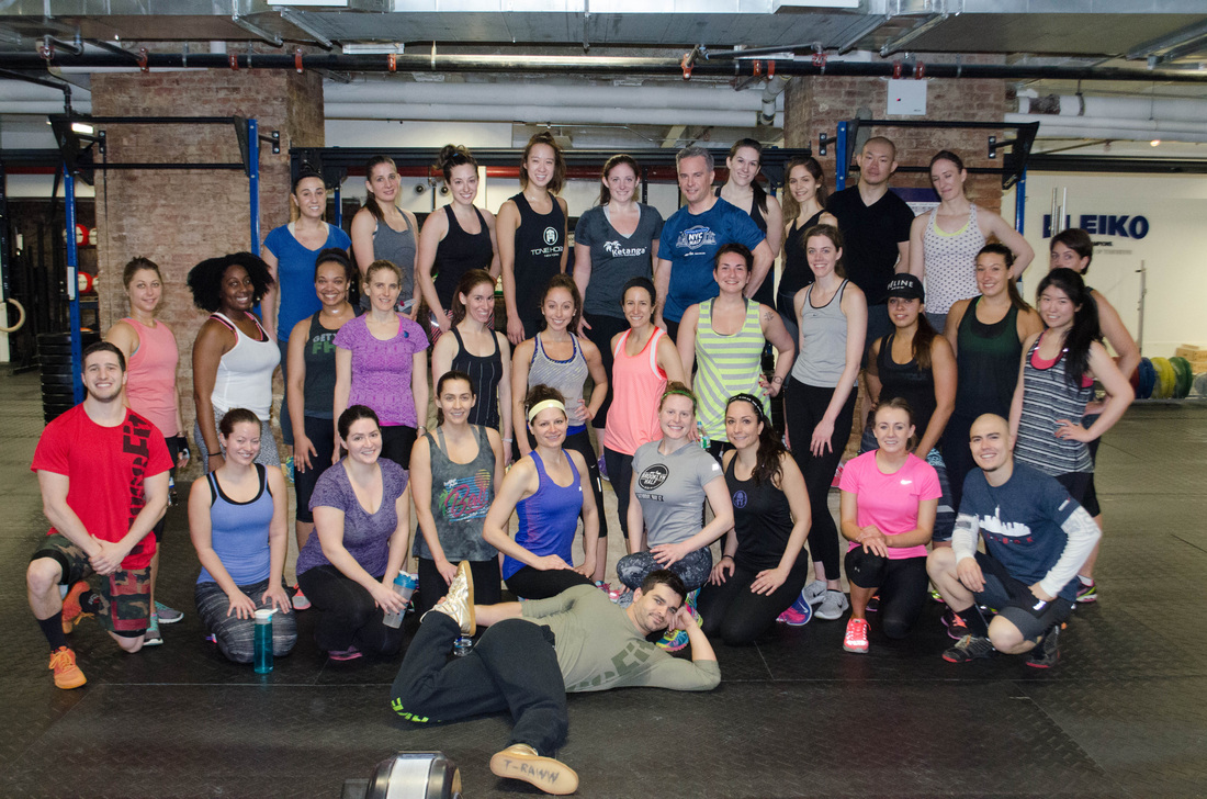 The Kenanga Krawl crew with the Crossfit Union Square staff...