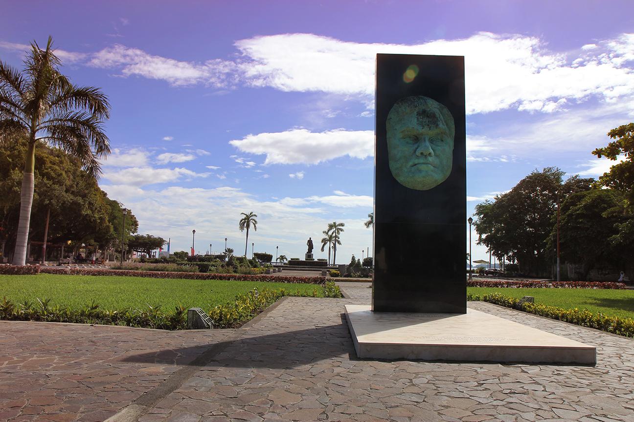 Rubén Darío Statue, Granada