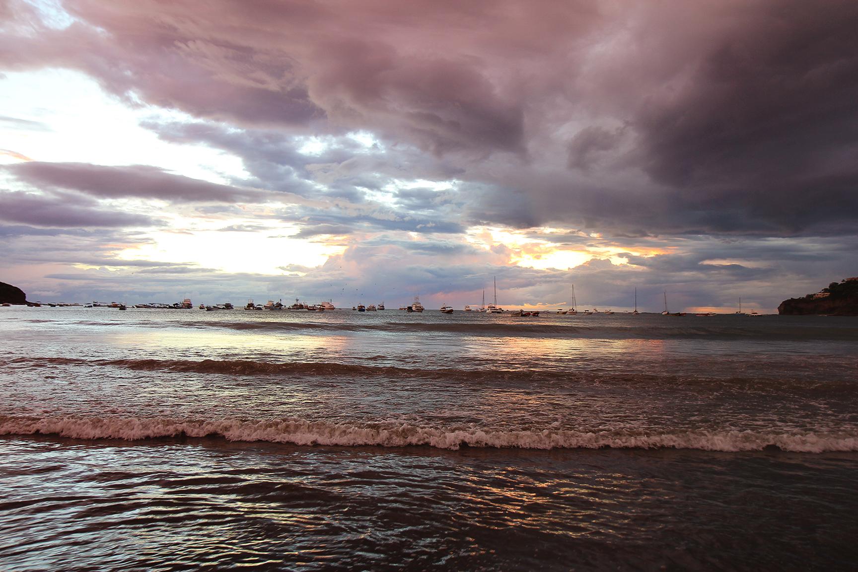 San Juan Bay, Stormy Sunset