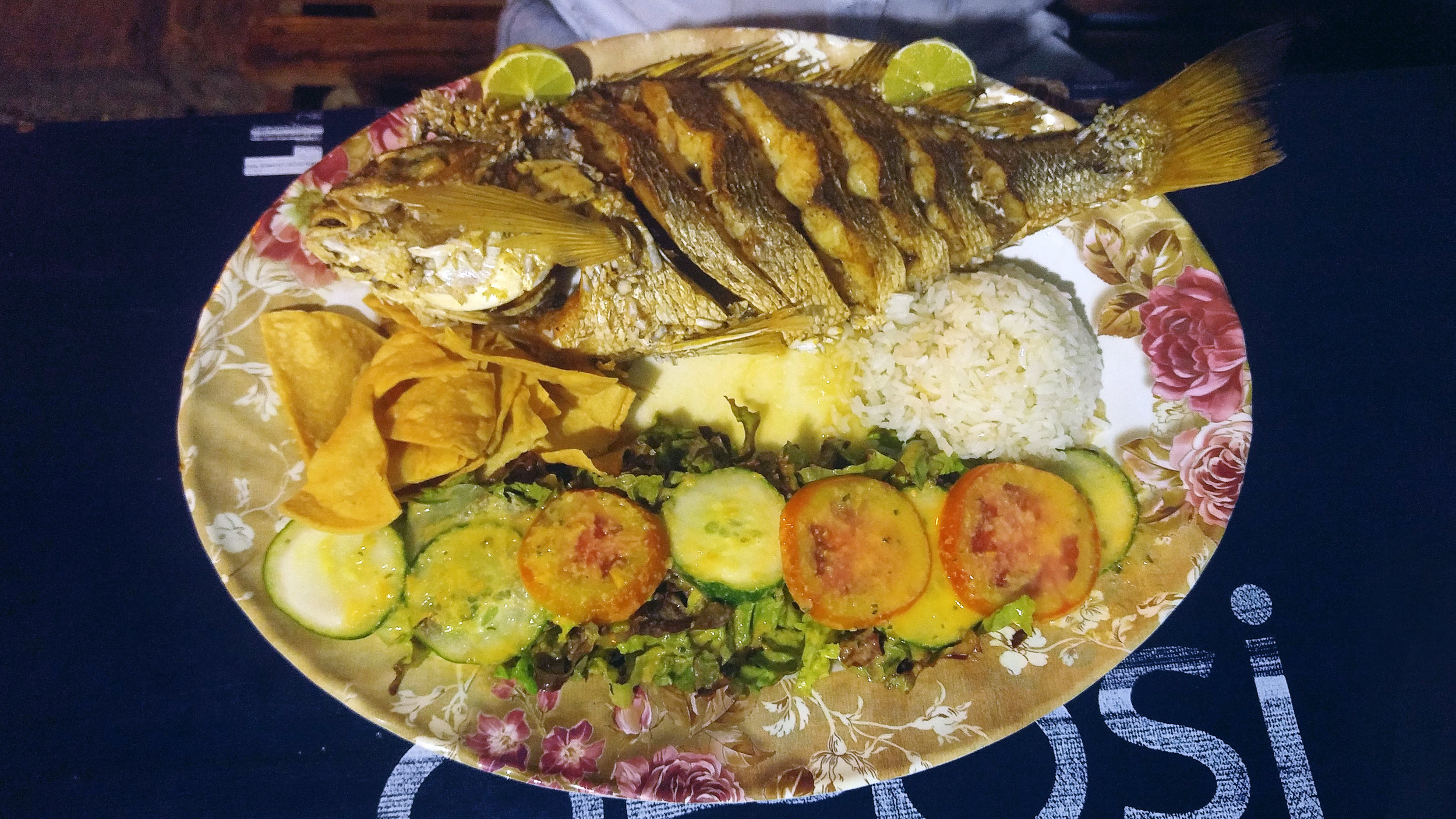 Fish dinner - San Juan Del Sur