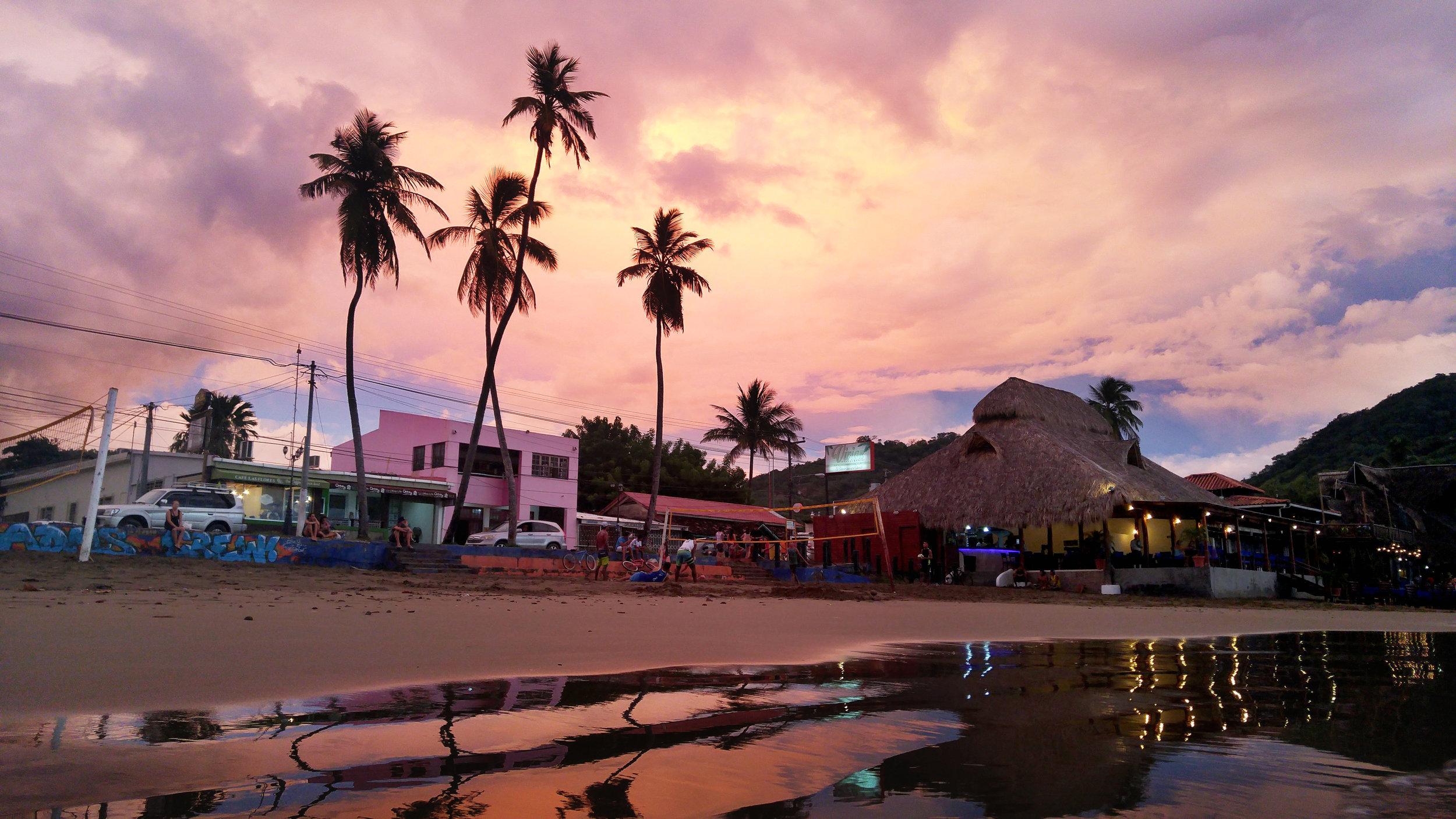 Shops and bars on San Juan Bay