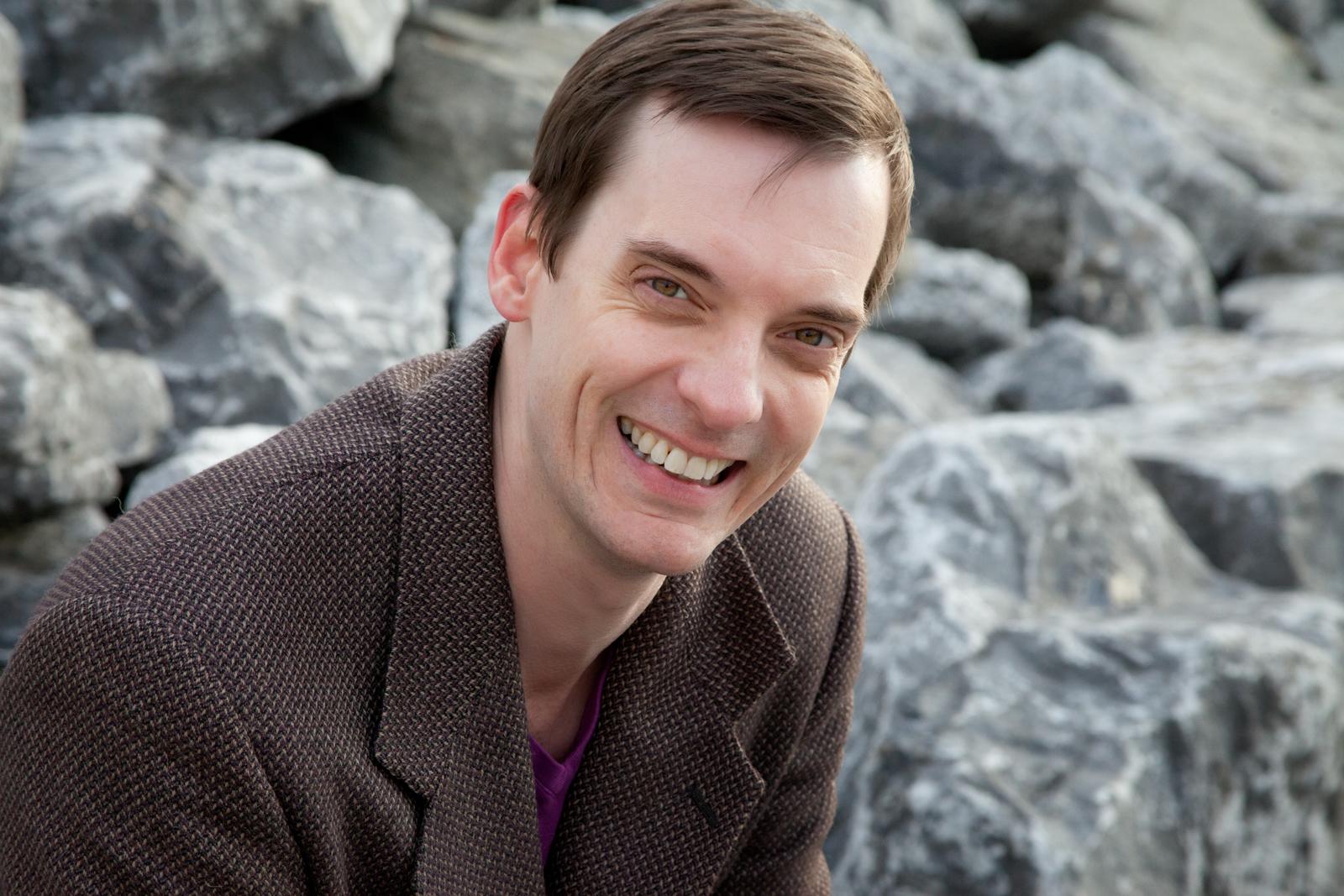 Playwright David Hilder