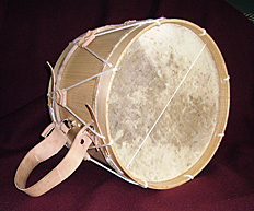 Salmatinsk tamboril af Manuel Perez.Salmatine tamboril by Manuel Perez