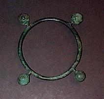 Antike bjælder fra Luristan (ca. 1000 f.Kr.).Antique pellet bells from Lorestan (c. 1000 BC)
