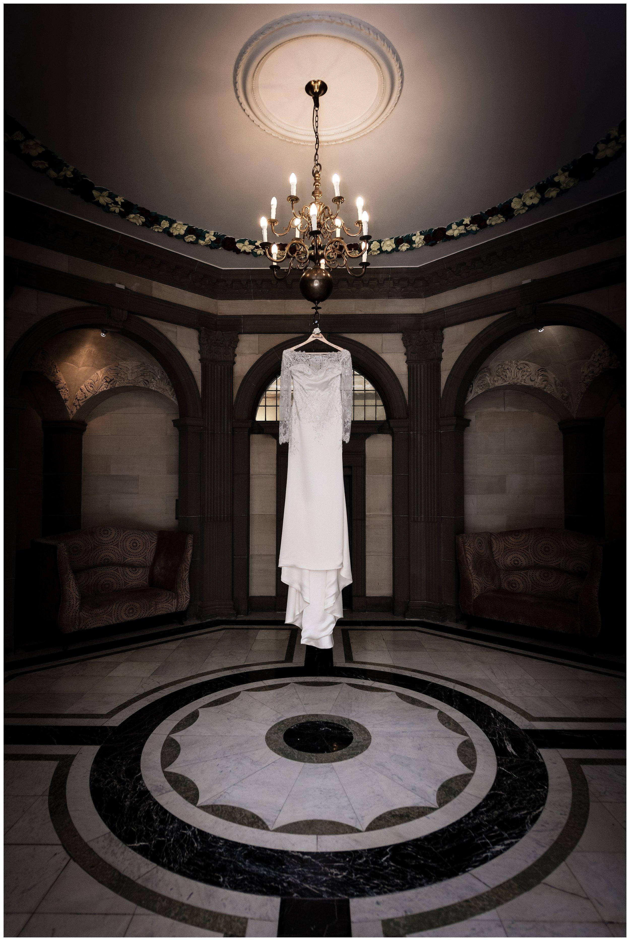 Little Pearl Wedding Dress - Yorkshire Wedding - Richard Perry Photography