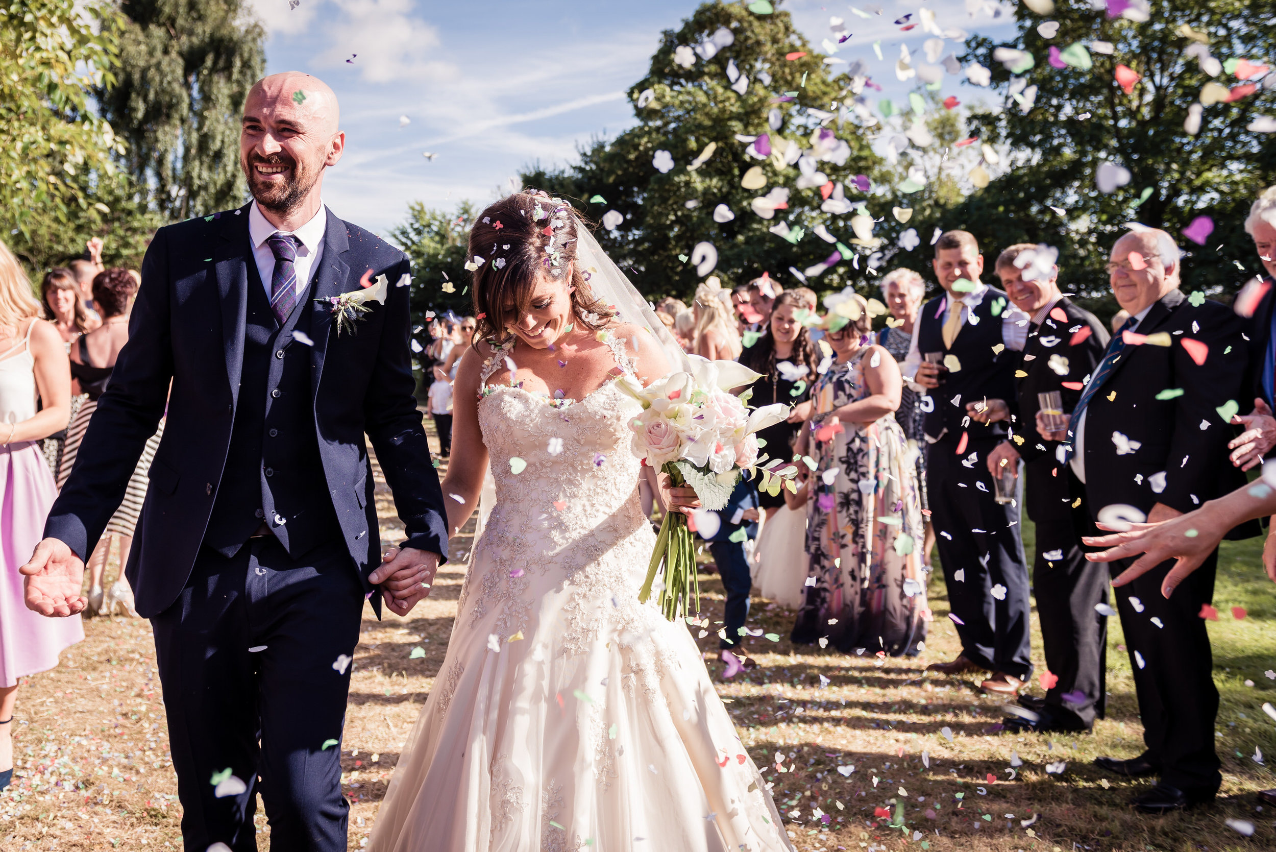 Country wedding in Yorkshire
