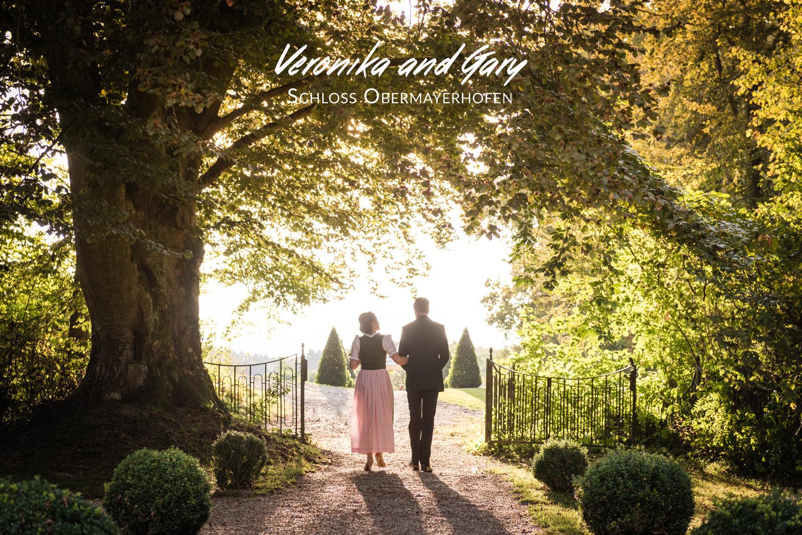 Veronika and Gary's Destination Wedding - Schloss Obermayerhofen