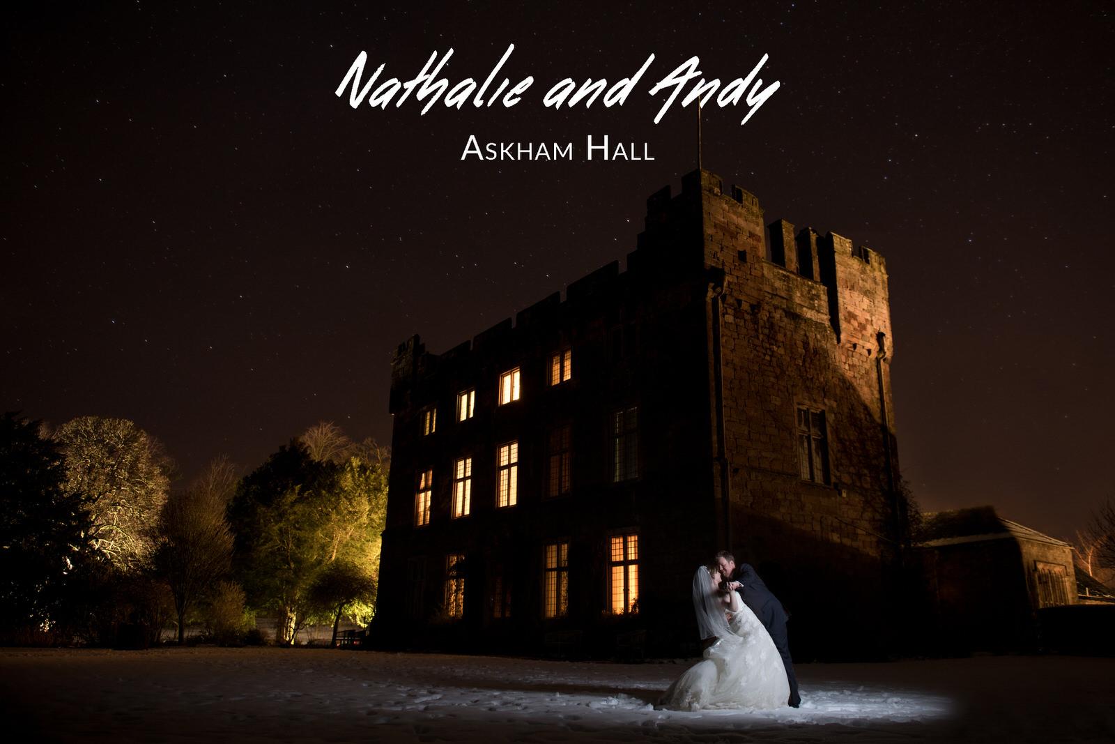 Nathalie and Andy's Wedding - Askham Hall