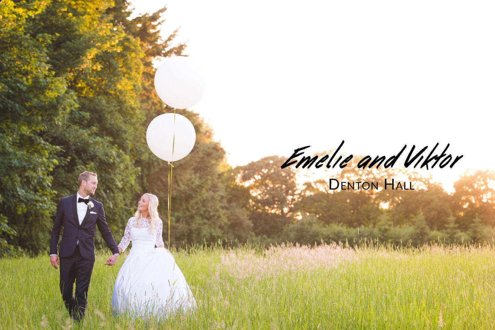 Emelie and Viktor's Wedding - Denton Hall