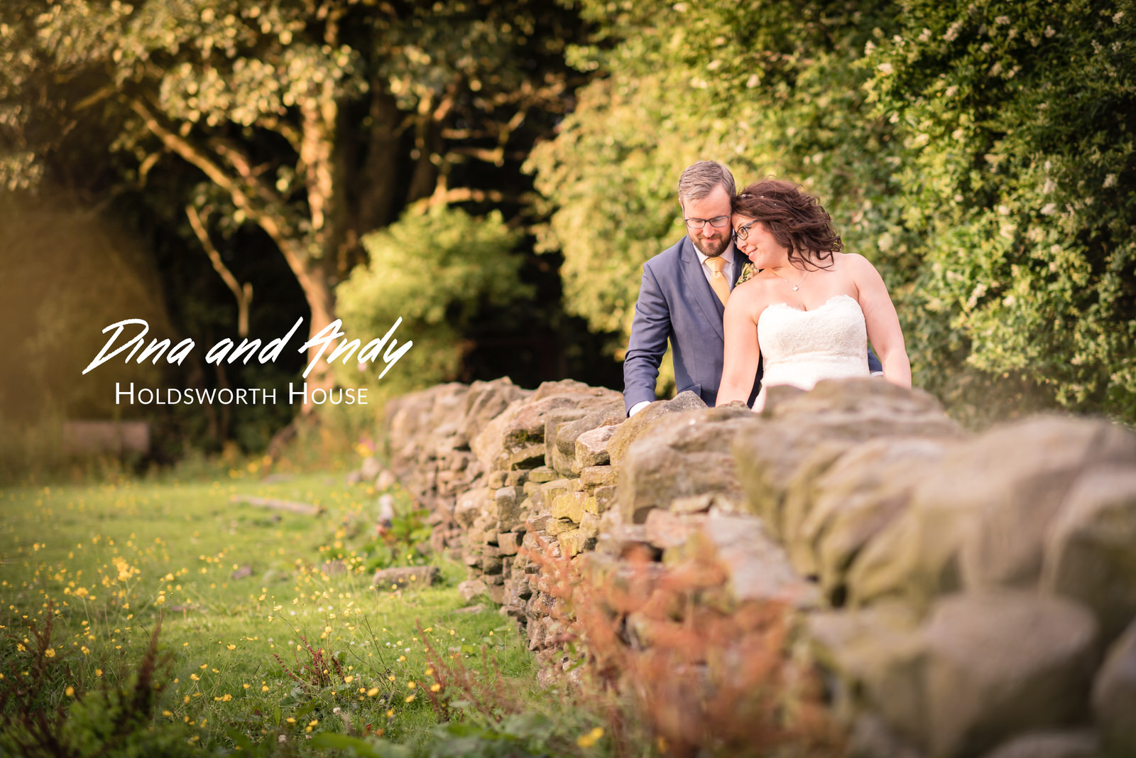 Dina and Andy's Wedding - Holdsworth House