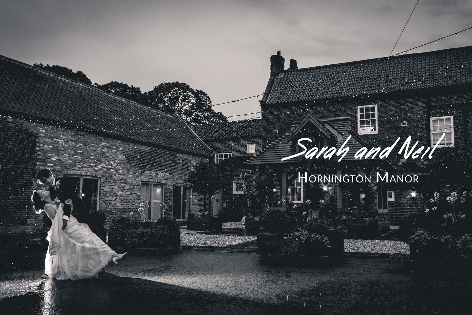 Sarah and Neil's Wedding - Hornington Manor