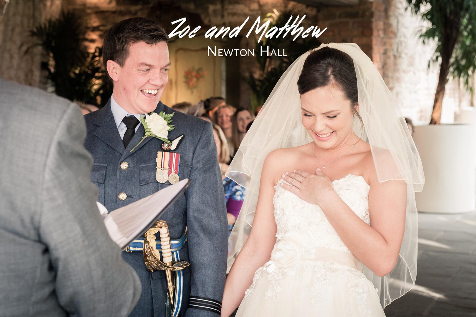 Zoe and Matthew's Wedding - Newton Hall