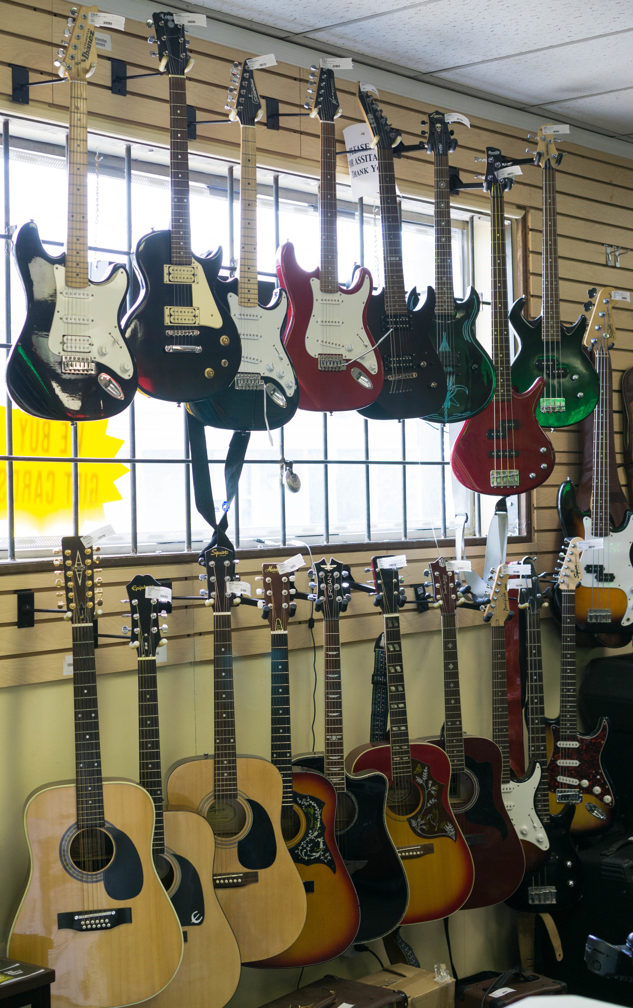 Guitars and Instruments!