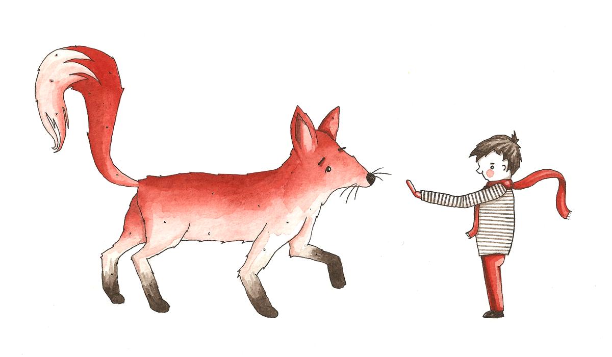 boy & fox