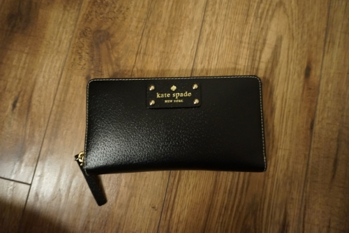 Kate Spade Wallet (I don't know the style, I bought it at an outlet!)