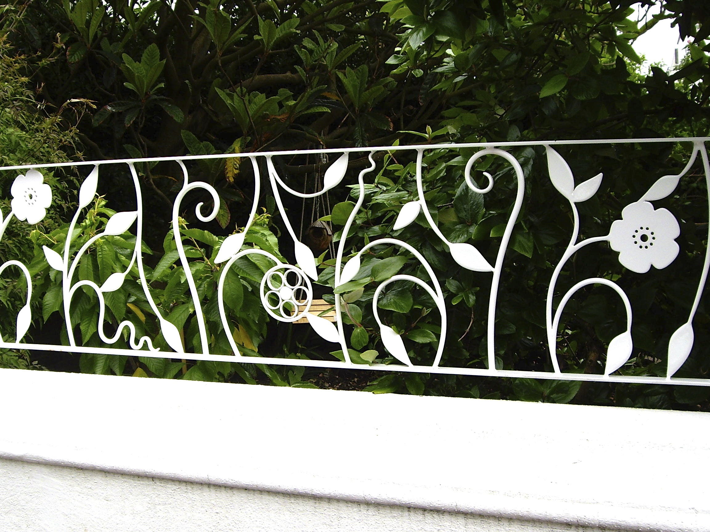 Flower Railings