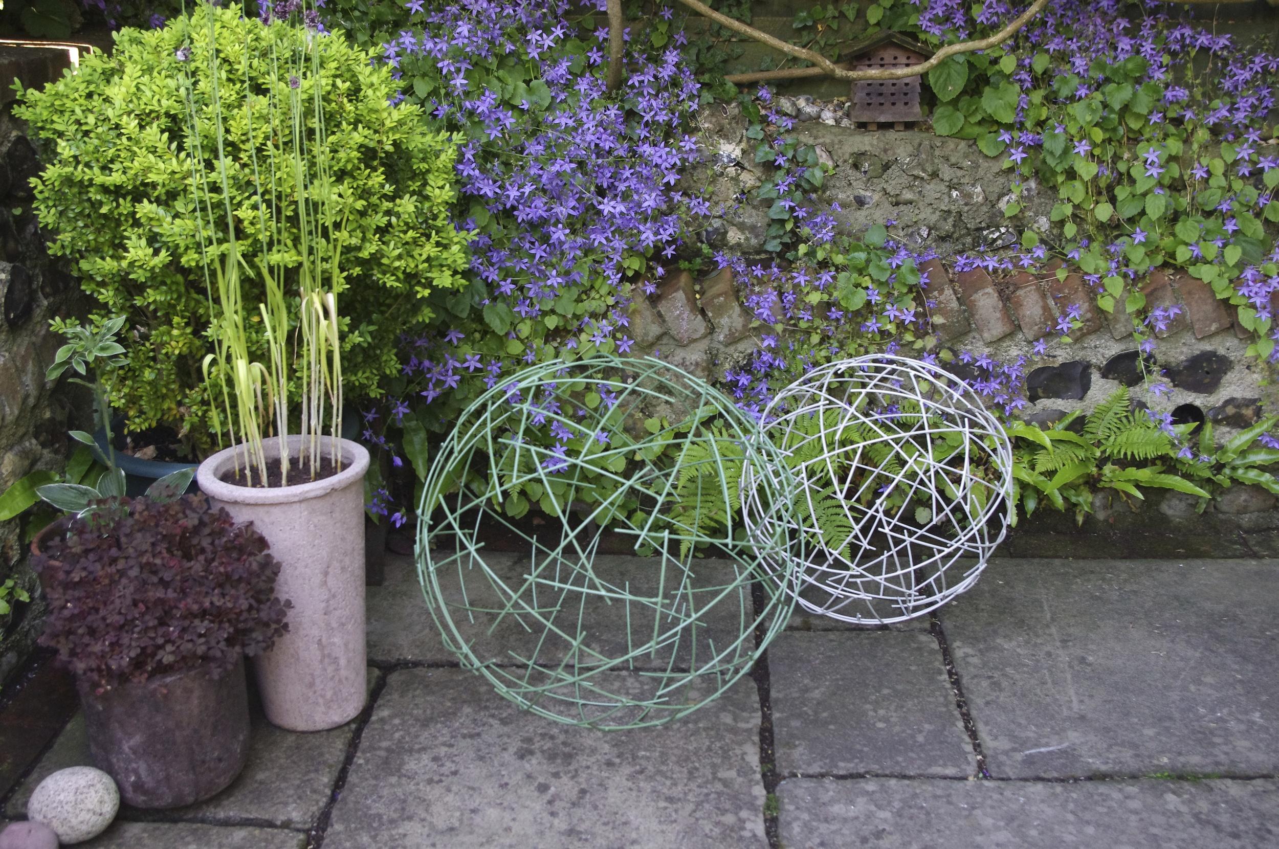 Sculptural Spheres (powder-coated)