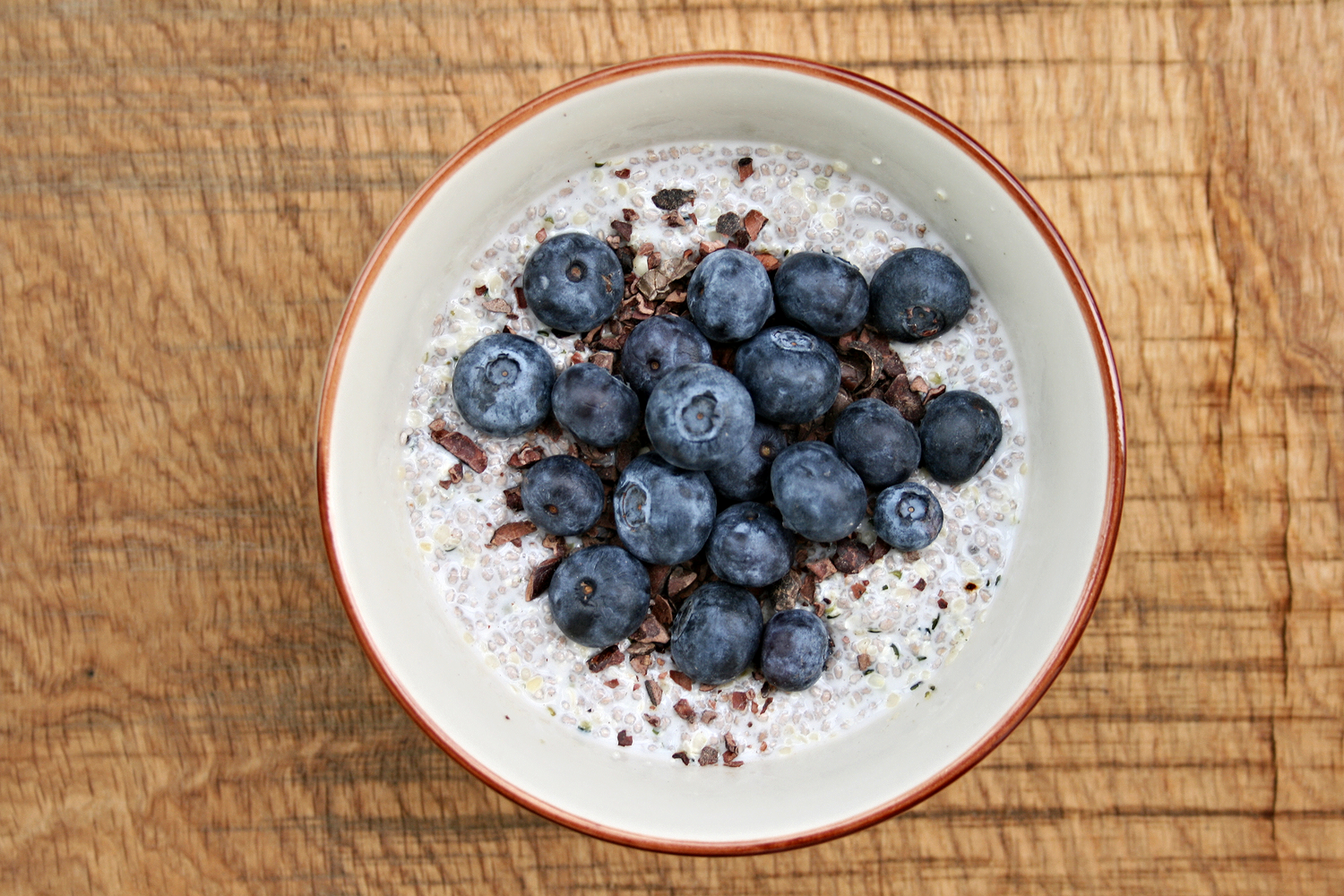 gluten free chia seed pudding